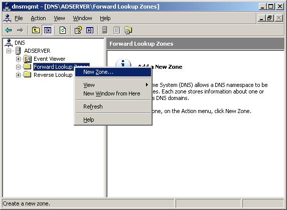 Windows DNS Server, Install DNS Server, Windows 2003 DNS Server, DNS