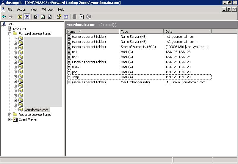 Windows DNS Server, Install DNS Server, Windows 2003 DNS