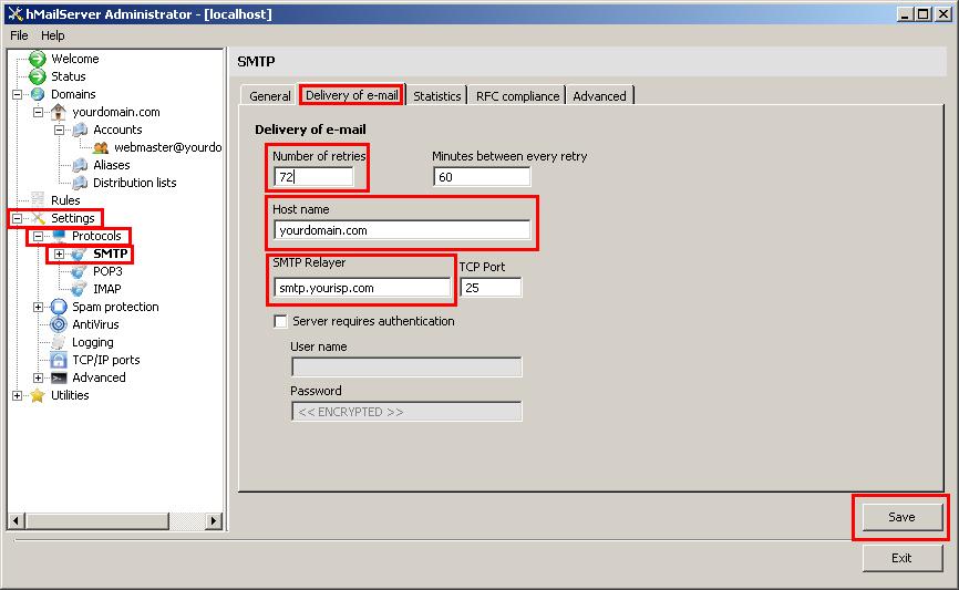 hMailServer Tutorial, hMailServer Installation Guide, How to install
